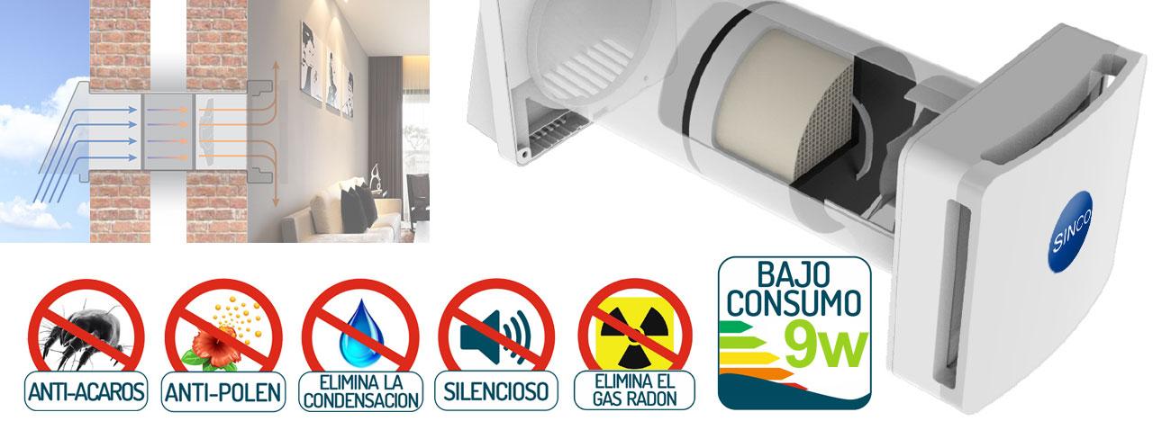 sistema ventilación forzada